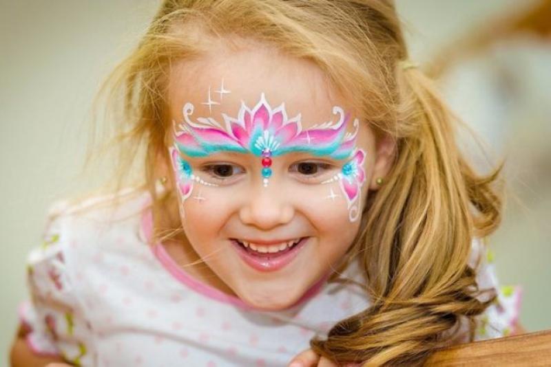 Как сделать детский красивый макияж